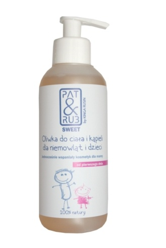Body and Bath Oil for Babies and Newborns