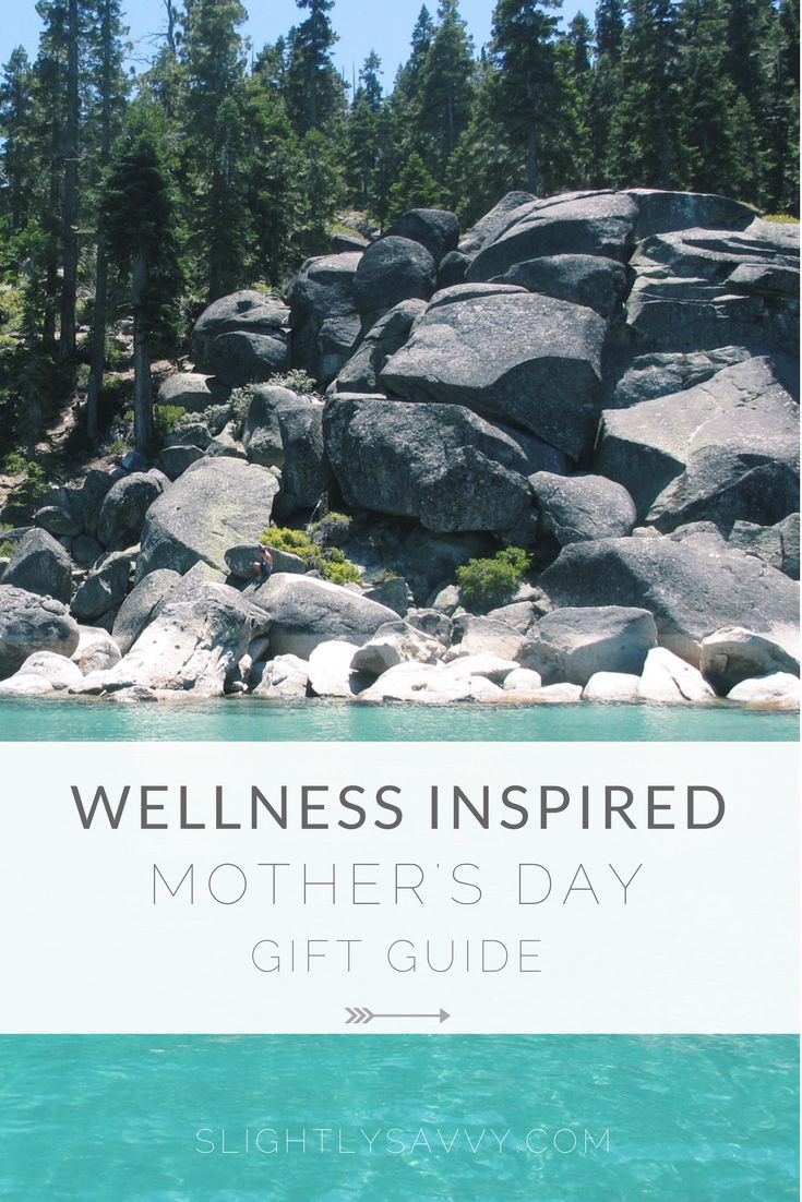 Wellness inspired Mother's Day gift ideas.