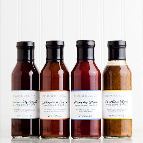 DEAN & DELUCA Barbeque Sauces - Set of Four