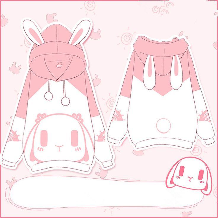 Kawaii cartoon hoodie pullover SE9279