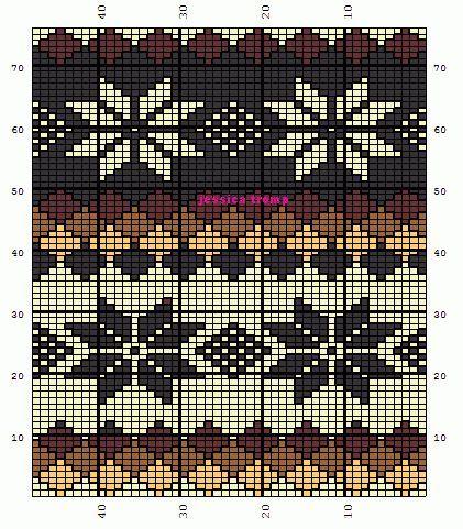 Fair Isle Norwegian patterns knittingpatterns knitpattern color charts.