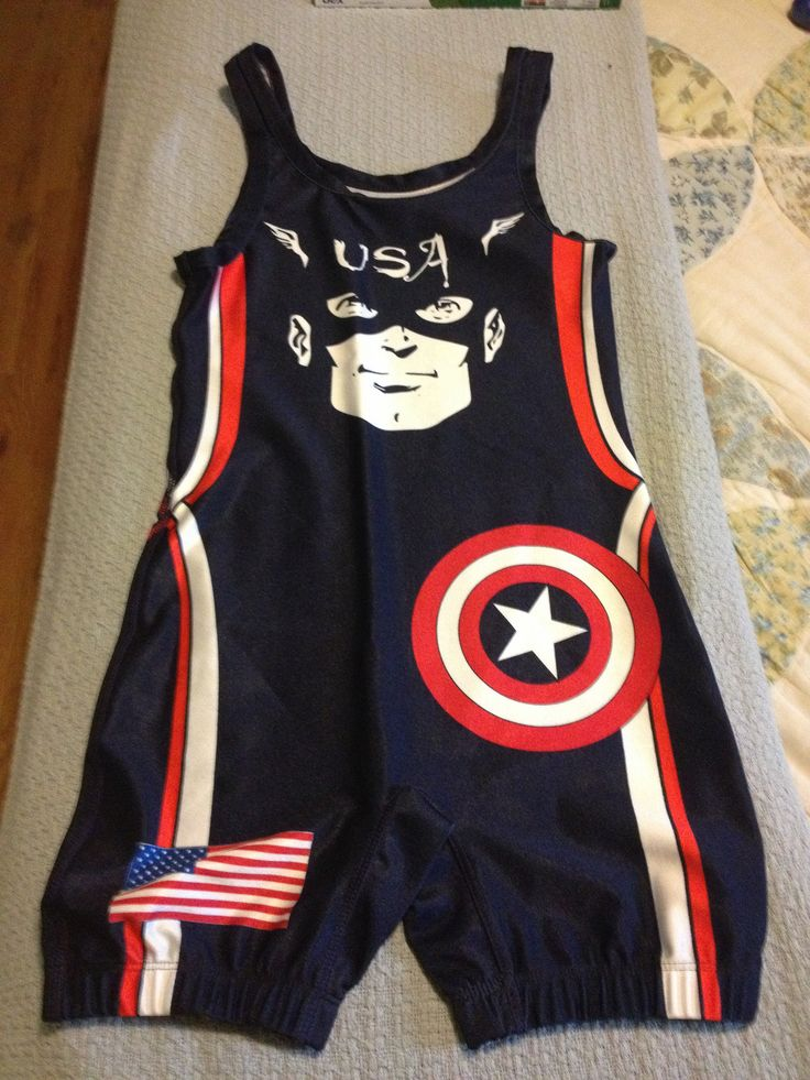 https://flic.kr/p/ecaaoc | Captain America USA wrestling singlet | Possibly trade or sell, it will cost you though, never even seen this singlet on anyone else before.