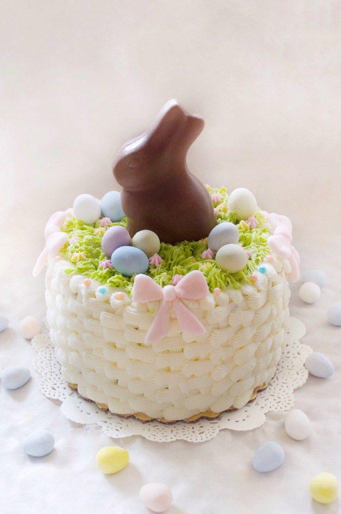 Easter Basket Cake With Wilton Easter Basket Cake