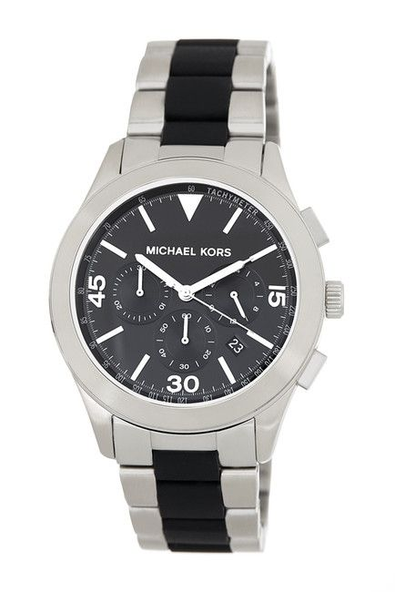 Image of MICHAEL Michael Kors Men's Gareth Bracelet Watch, Get Gifts Up To 80% Off For Him! Use Nordstrom Rack Coupons to avail the offer.
