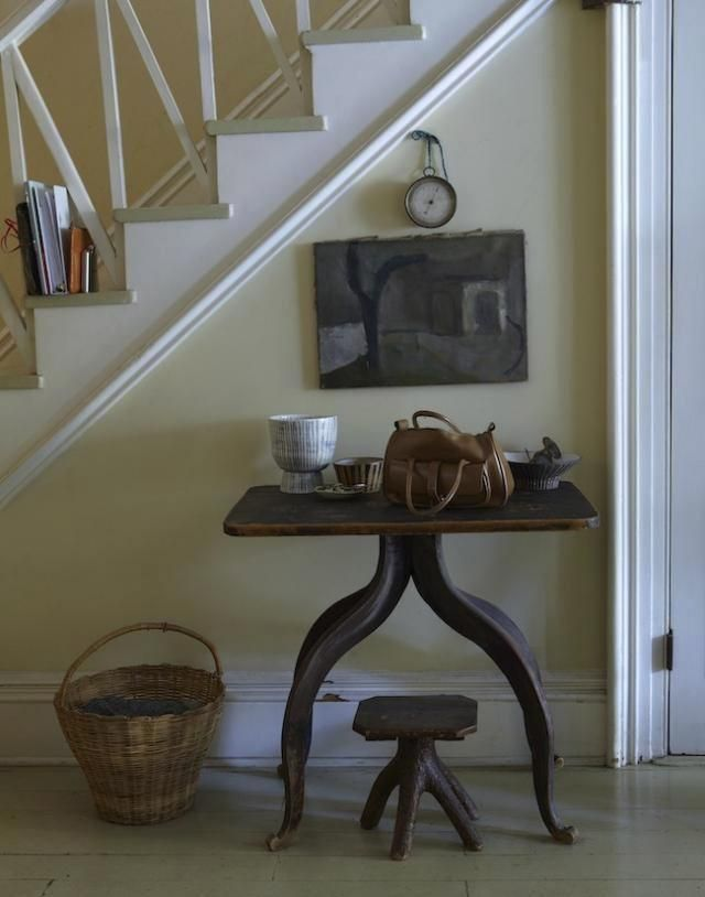 love the table and display of objects  http://www.remodelista.com/files/styles/733_0s/public/img/sub/uimg/04-2012/640-updated-paula-greif-hallway.jpg
