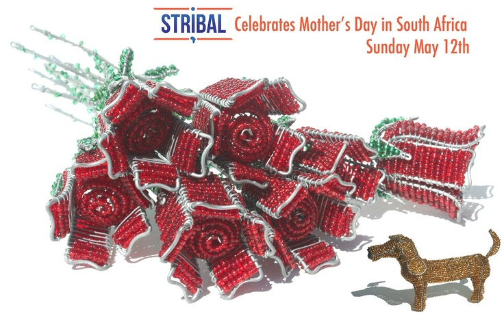 Stribal Mother's Day reminder for Sunday May 12th.