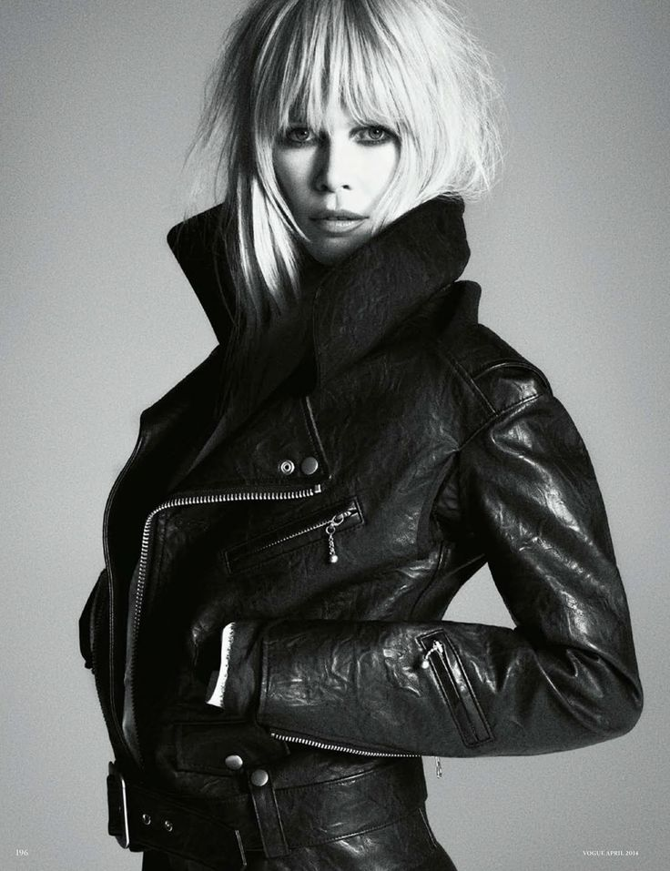 Claudia Schiffer by Luigi + Iango for Vogue Germany April 2014