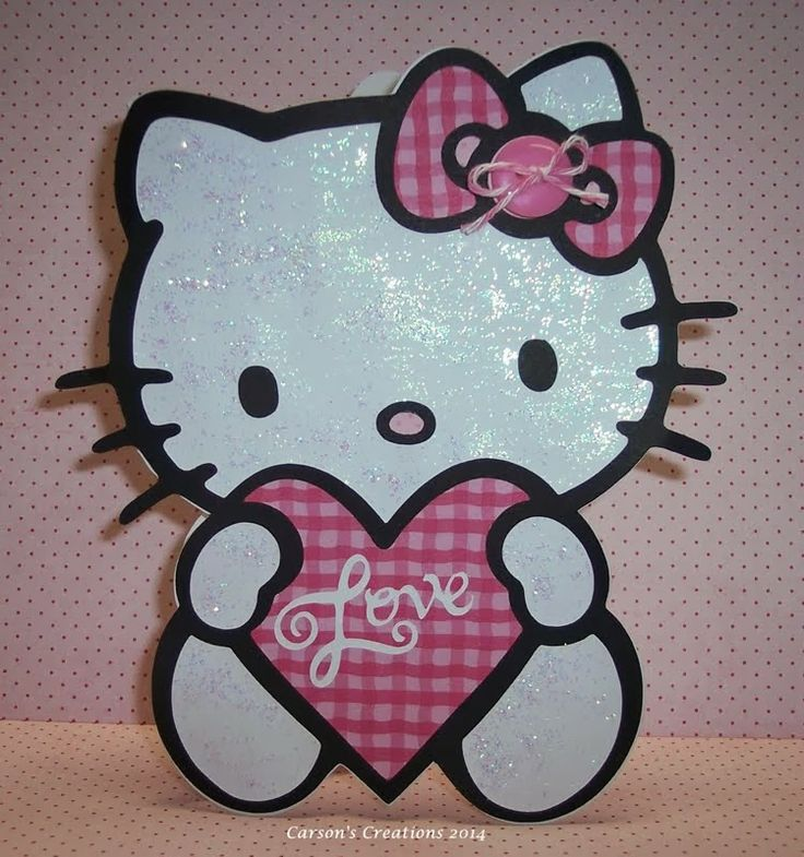 341 best cricut hello kitty images on pinterest animal cards carsons creations hello kitty blog hop m4hsunfo