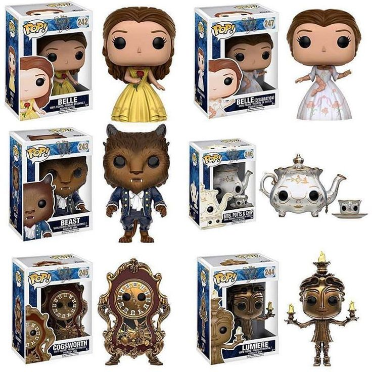 Disney's Beauty and the Beast (2017) Funko Pop!
