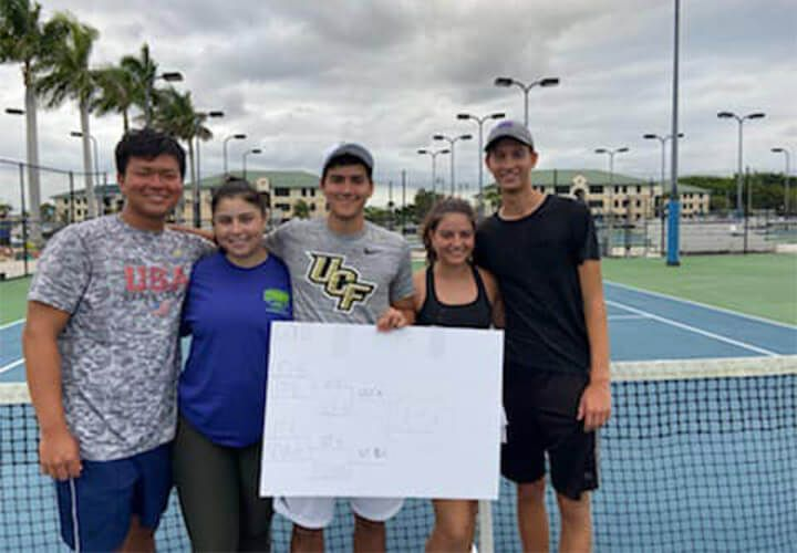 Ucf Wins 2nd Usta Florida Tennis On Campus Title Of 2019 20 Season Gulf Coast Florida Florida Gulf Coast University University Of Tampa