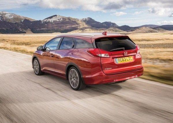 2014 Honda Civic Tourer Reds Rear Design 600x429 2014 Honda Civic Tourer Full Review with Images