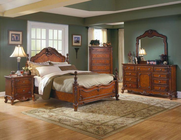 madeline old world france ornate bedroom furniture set