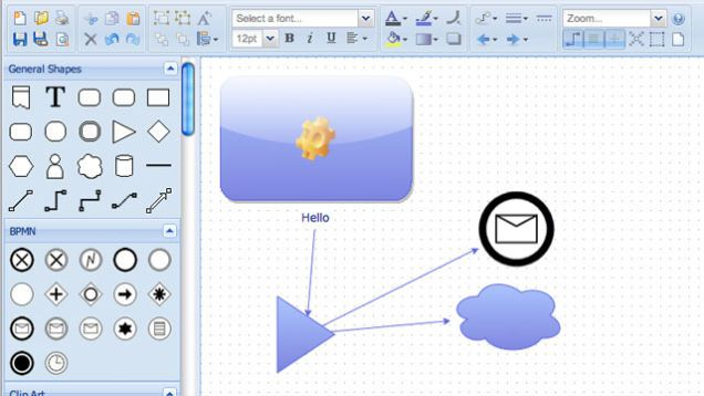 Diagramly Is a Quick Online Diagram, Mind Map, and Flow Chart Creator