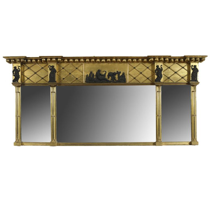 Federal Over-Mantel Mirror | From a unique collection of antique and modern mantel mirrors and fireplace mirrors at http://www.1stdibs.com/furniture/mirrors/mantel-mirrors-fireplace-mirrors/