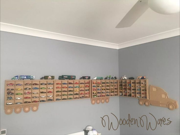 Matchbox, Hot Wheels model car storage. Designed in Brisbane Australia by WoodenWares