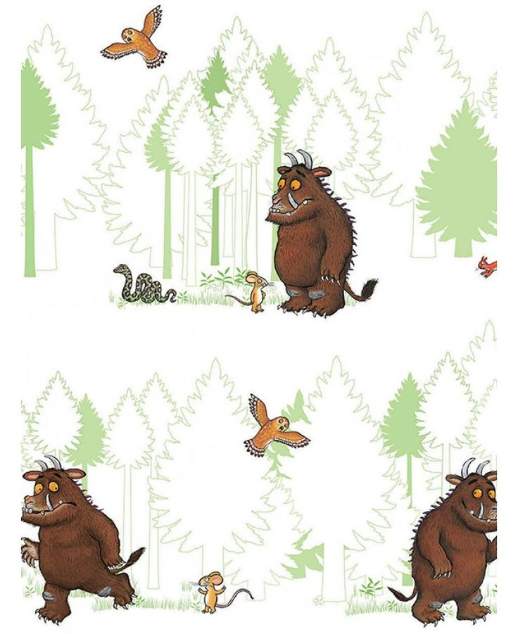 100% official merchandise. The Gruffalo and friends wallpaper