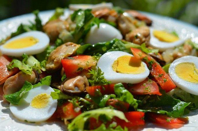 Mussel Salad Recipe