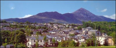 Town Secrets Walk, 23rd Aug. Guided walk of the beautiful Westport town detailing the towns secrets and some hidden features. Croagh Patrick can be seen in this photo. More info here http://www.heritageweek.ie/whats-on/event-details?EventID=1260