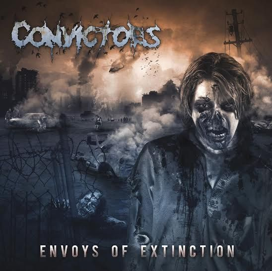 """""""All very conventional, well done, well played"""" says Argentinian zine Puro Ruido of the new Convictors Envoys Of Extinction  http://puroruido.blogspot.com.ar/2015/02/convictors-envoys-of-extinction.html  http://convictors.de  FullBlast!PR: http://www.fullblastpr.info"""