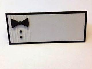 Heidis Kreative Team Huleboer: Bordkort til konfirmanden eller en flot fyr :o) table placement card communion boy men