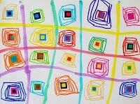 Quadrillage et carré