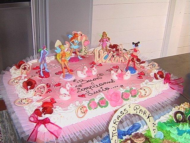 #compleanno, #torta, #cake, #Winx