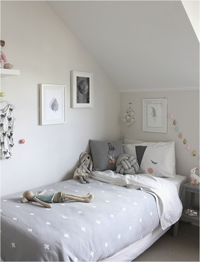 pink and grey girls bedroom ideas