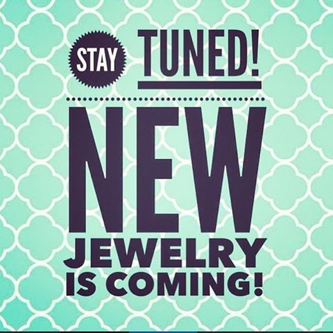 Can't wait to see the new jewelry!!! I hope those of you who are attending rally have a blast & meet great people!!