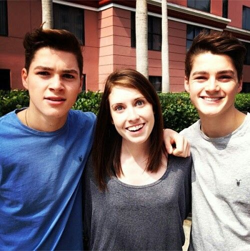 Jack and Finn Harries with Overly Attached Girlfriend ...