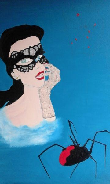 The black widow by Anna Maria Fazio