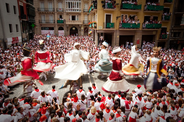 Pamplona for San Fermines