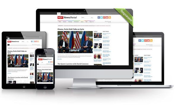In news portal The main purpose of the news portals is to show many information from different fields, in example politics, sport, entertainment, etc