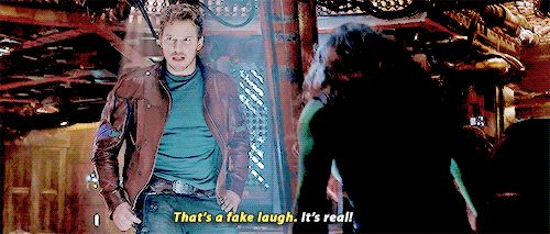 """Totally fake!""  (Guardians of the Galaxy)"
