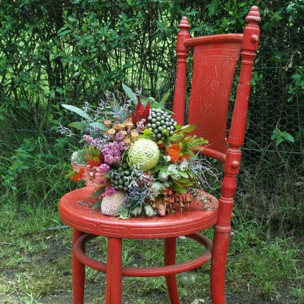 'My native australian wedding bouquet.' said previous pinner • thank you, pinners