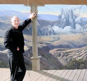 ENVIRONMENTAL SUCCESS: Waimangu Volcanic Valley owner Harvey James received a Rotorua District Council community leadership award for his work with the environment.