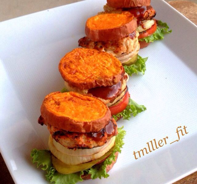 Sweet potato sliders! | Primal Eats. | Pinterest | Sliders, Sweet and ...