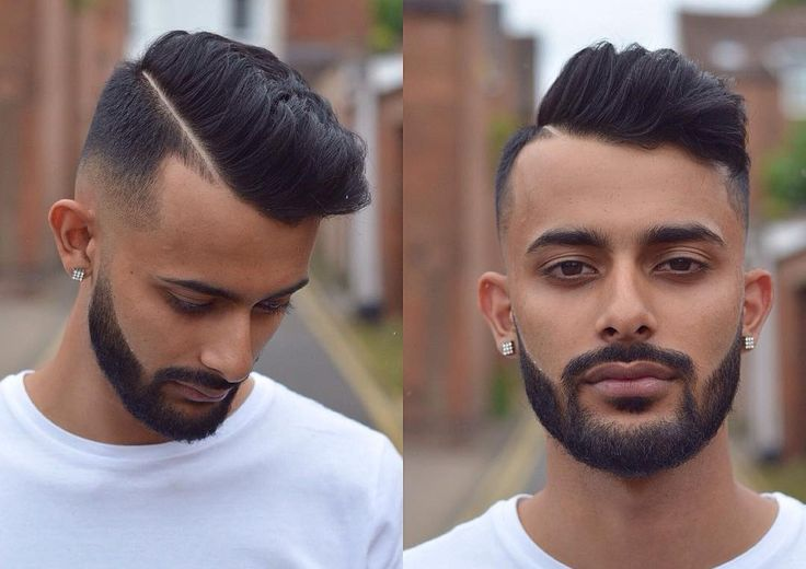 13 best pompadour fade haircuts images on pinterest