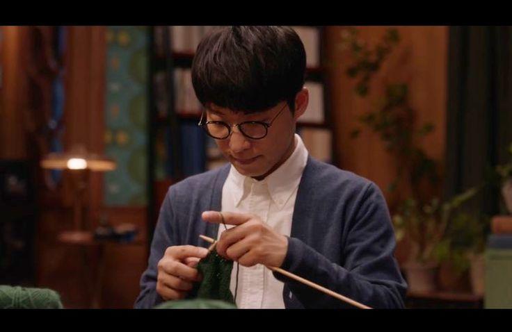 編み物男子…源さん練習しましたね。ステキ