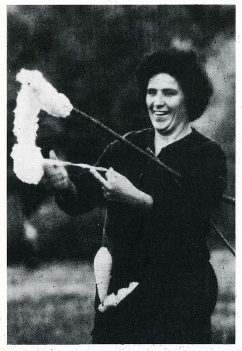 La filatura della lana. Italy