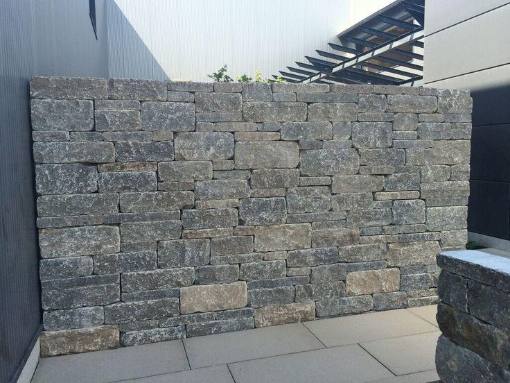 System Mauer Werk, Kohlplatter Muschelkalk von TRACO, Naturstein