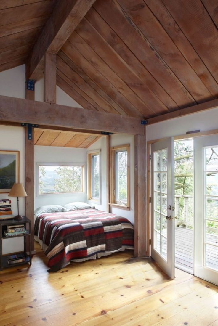 Bedroom tiny home plans on wheels furthermore romeo 500 sq ft log - 10 Tiny Houses That Are Filled With Serious Comforts