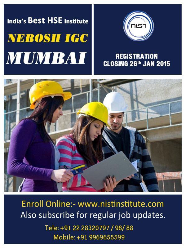 To Possess Globally Recognized NEBOSH Courses Which Offers A Range Of Qualifications For People In Health And Safety Field Upgrade Your Career