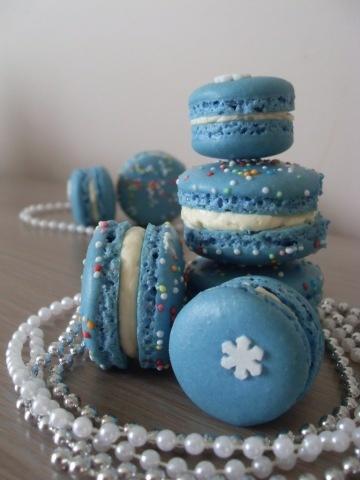 ... macarons april fools doughnut macaron blue donut macarons see more
