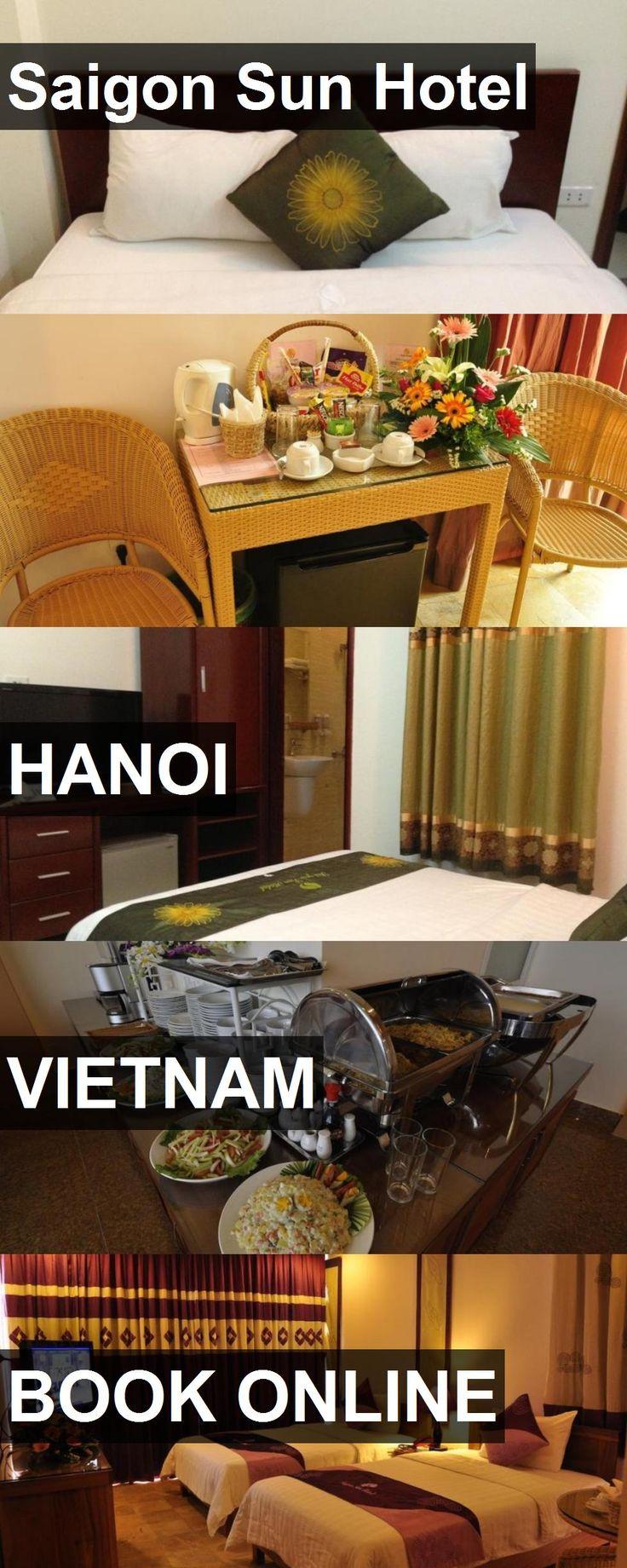 Hotel Saigon Sun Hotel in Hanoi, Vietnam. For more information, photos, reviews and best prices please follow the link. #Vietnam #Hanoi #SaigonSunHotel #hotel #travel #vacation