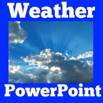 WEATHER POWERPOINT LESSONYour students will love learning with this engaging Weather PowerPoint! Learn key information about weather such as weather types, weather patterns, dangerous weather and weather tools!   Visit and follow  GREEN APPLE LESSONS for more great resources!