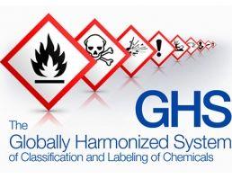 Il Sistema mondiale armonizzato di classificazione ed etichettatura delle sostanze chimiche o GHS è un sistema concordato a livello internazionale creato dalle Nazioni Unite.  GHS impone ai fabbricanti, importatori, utilizzatori a valle e distributori di sostanze chimiche e miscele di adottare lo standard dall' 1 giugno 2015.  GHS è impostato per unificare la comunicazione di prodotti pericolosi e sostituire regolamenti esistenti specifici del paese.