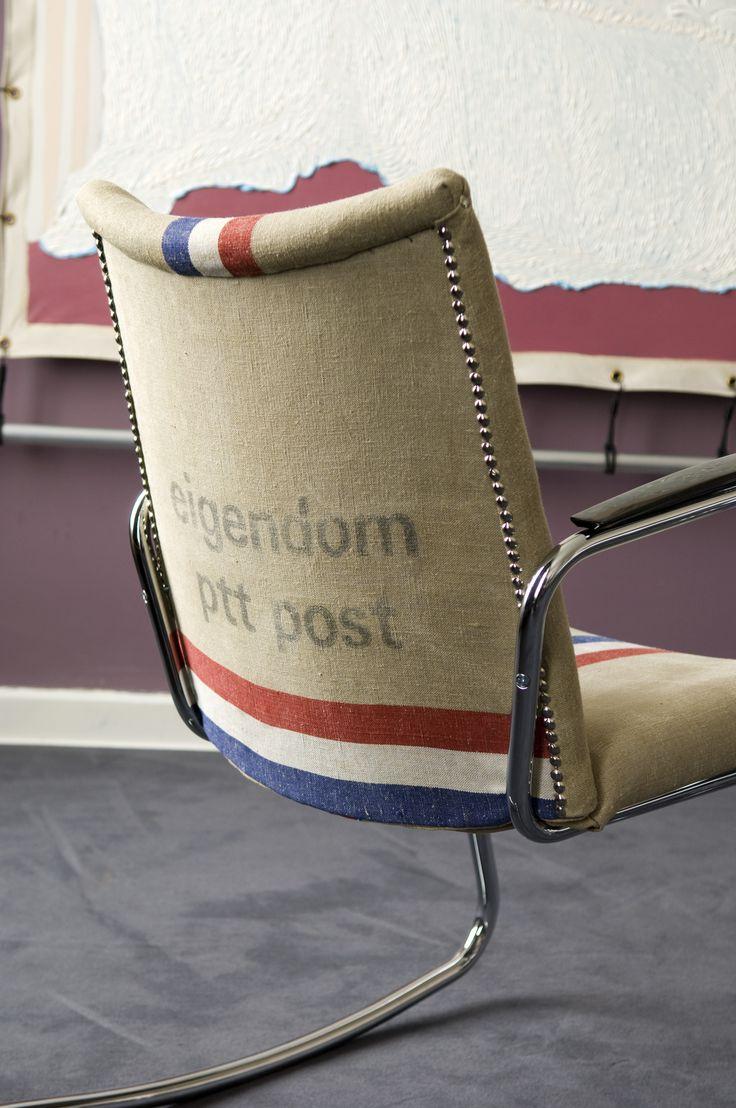 Hotel Pincoffs Rotterdam I Photography by Frank Brandwijk I Styling Mirjam van der Rijst I Art Suite I 'Dutch Mailbag Chair'