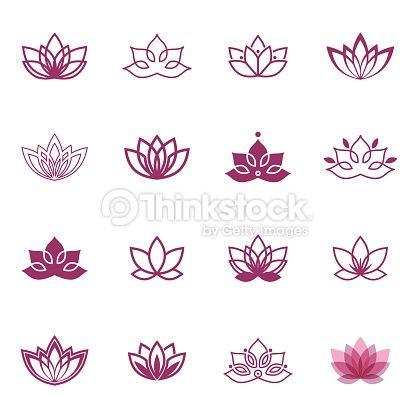flor de lotus desenho - Google Search