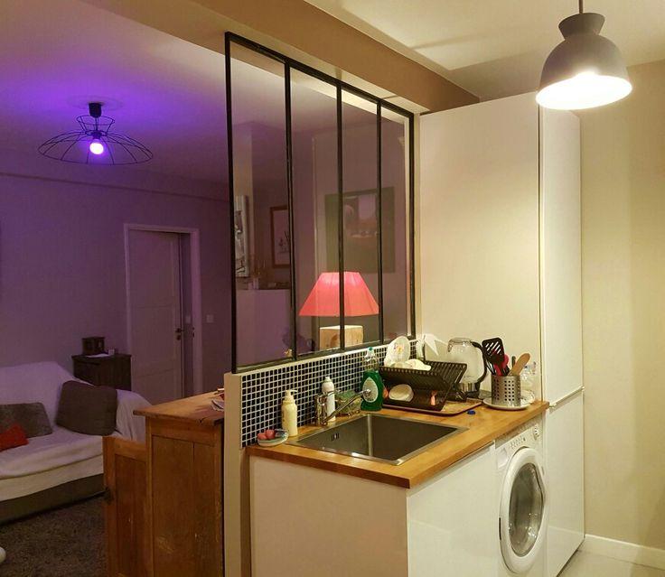 86 best inspiration séjour cuisine images on Pinterest Living room - cuisine sejour meme piece