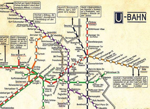 Best Berlin Germany Images On Pinterest Berlin Germany - Germany underground map